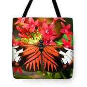 Madeira Butterfly Tote Bag