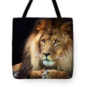 Magnificent Lion Tote Bag