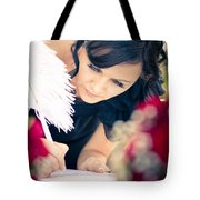Maid Of Honour Signing Wedding Registar Tote Bag