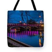 Maidstone Bridge Tote Bag