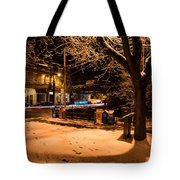 Main Street At Old B And O Station Tote Bag