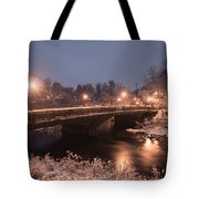 Main Street Bridge Tote Bag