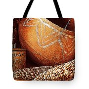 New Orleans Maize The Indian Corn Still Life In Louisiana  Tote Bag