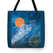 Making Love To The Universe - Infinitude Tote Bag