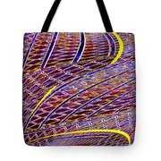 Making Tracks Tote Bag