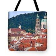 Mala Strana In Prague  Tote Bag
