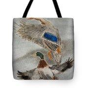 Mallard Pair Tote Bag