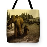Mammoths Tote Bag