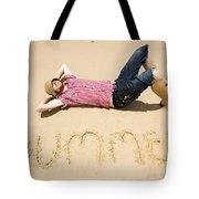 Man Of Summer Tote Bag