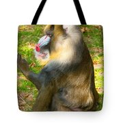 Mandrill Tote Bag