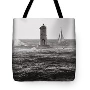 Mangiabarche's Lighthouse Tote Bag