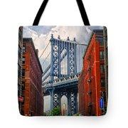 Manhattan Bridge View Tote Bag