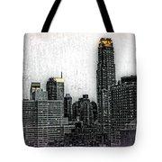Manhattan View Tote Bag