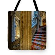 Mansion Stairway Tote Bag