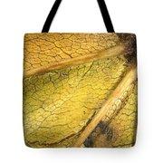 Maple Leaf Detail Tote Bag