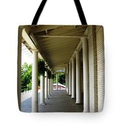Marcy Casino At Delaware Park Buffalo Ny Oil Painting Effect Tote Bag
