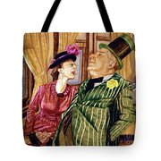 Margaret And W.c. Fields Tote Bag