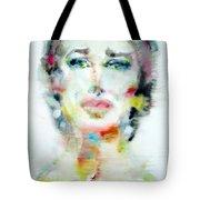 Maria Callas - Watercolor Portrait.2 Tote Bag