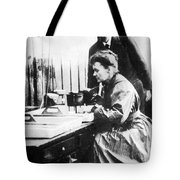 Marie And Pierre Curie Tote Bag