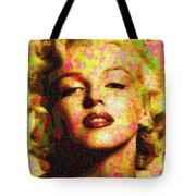 Marilyn Monroe - Maple Leaves Tote Bag