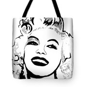 Marilyn What A Beautiful Girl Tote Bag