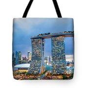 Marina  Bay Sands - Singapore Tote Bag