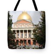 Massachusetts State House - Boston  Tote Bag