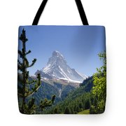 Matterhorn In Zermatt Tote Bag