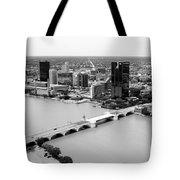 Maumee River Toledo Ohio Tote Bag