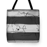 Max Women In Black And White Tote Bag