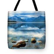 Mcdonald Lake Tote Bag