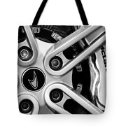 Mclaren Wheel Emblem Tote Bag