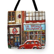 Mcleans Irish Pub Montreal Tote Bag