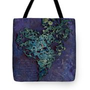 Mechanical - Heart Tote Bag