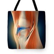 Medical Illustration Showing Tote Bag