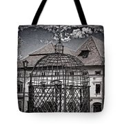 Medieval Cage Of Shame Tote Bag