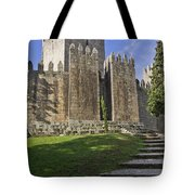 Medieval Castle Keep Tote Bag