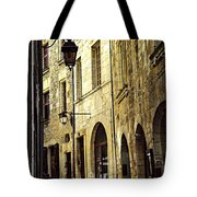 Medieval Street In France Tote Bag