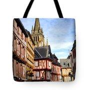 Medieval Vannes France Tote Bag