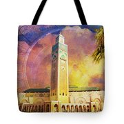 Medina Of Marakkesh Tote Bag by Catf