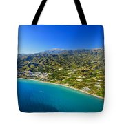 Mediterranean Sea From The Air Tote Bag
