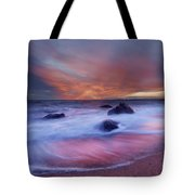Meigs Point Sunset Tote Bag
