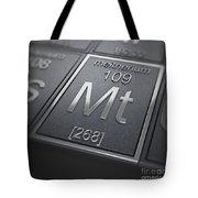 Meitnerium Chemical Element Tote Bag