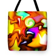 Melting Colors Tote Bag