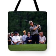 12w334 Jack Nicklaus At The Memorial Tournament Photo Tote Bag