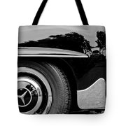 Mercedes-benz Wheel Emblem Tote Bag