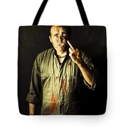 Message From Beyond The Tomb Tote Bag