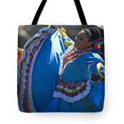 Mexican Folk Dancers Tote Bag