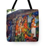 Mexican Wall Art Tote Bag