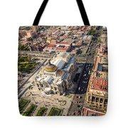 Mexico City Aerial View Tote Bag